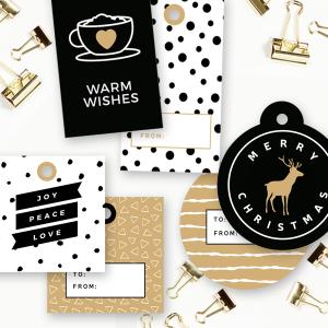 Holiday Gift Tags Printable