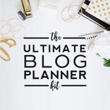Ultimate Blog Planner Kit