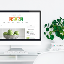 Free Monthly Blogger Template   February
