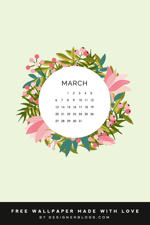 Free March Wallpaper