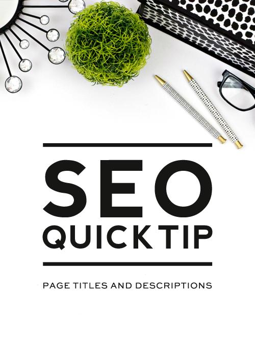 3 Quick Seo Tips