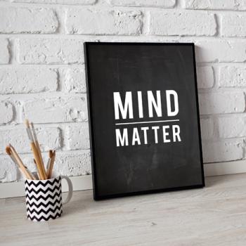 Mind Over Matter   Free Printable