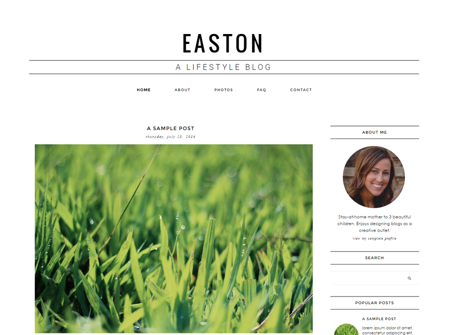 Easton | by Erin