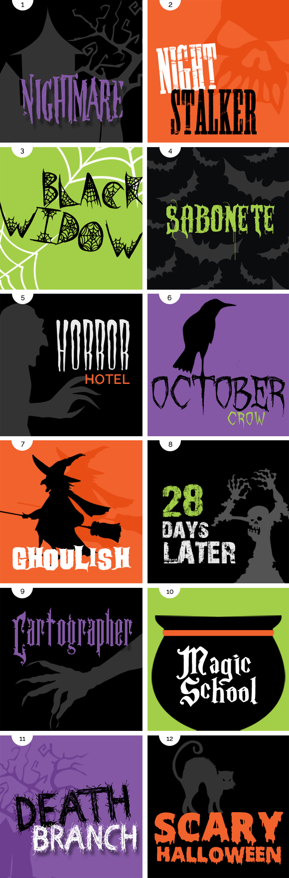 12 Favorite Free Halloween Fonts - Designer Blogs
