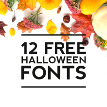 12 Favorite Free Halloween Fonts