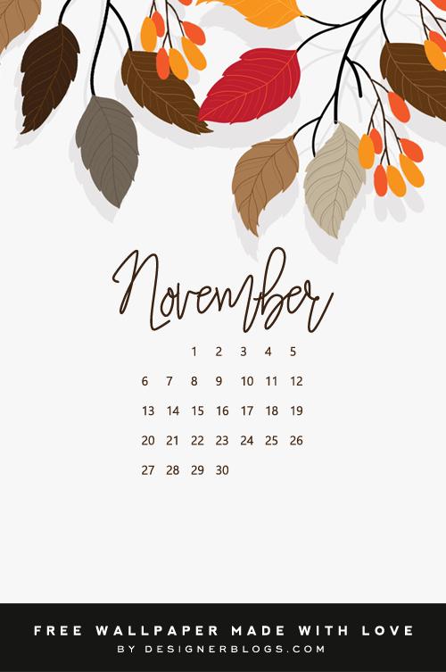 Free November Wallpaper