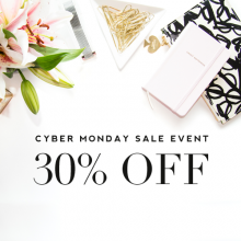 Cyber Monday Sale Event