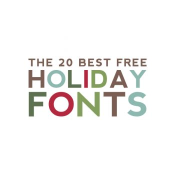 20 Best Free Holiday Fonts