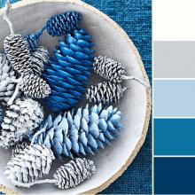 Color Love | Winter Blues & Gray