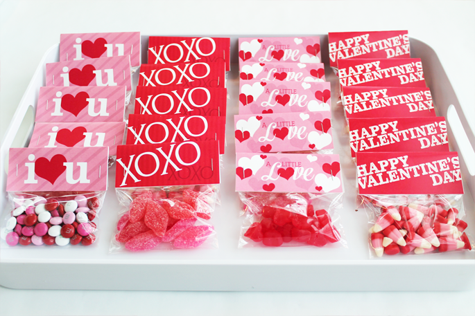 Valentine's Bag Toppers