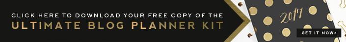 Ultimate Blog Planner