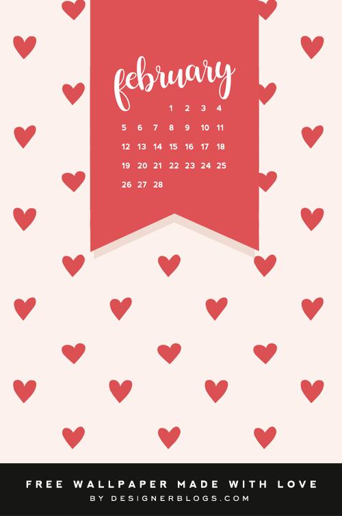 Free February Wallpaper