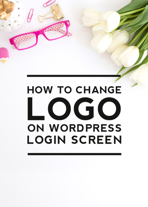 Click to learn how to customize the logo on your WordPress login screen | Designer Blogs