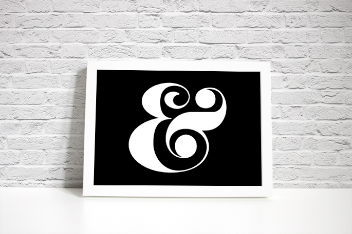 ampersand free printable