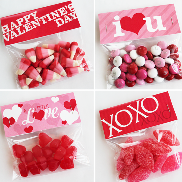 Valentine Bag Toppers Printable