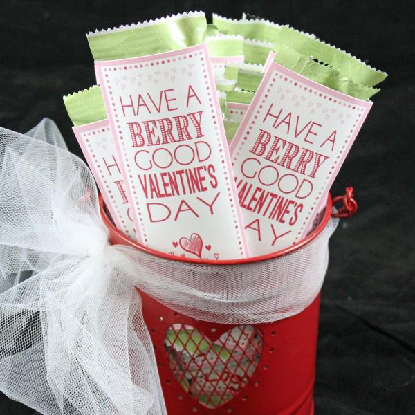 Berry Good Valentine Printable