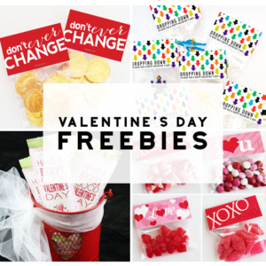 6 Free Printables For Class Valentine's Ideas
