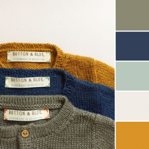 Color Love | Mustard & Navy