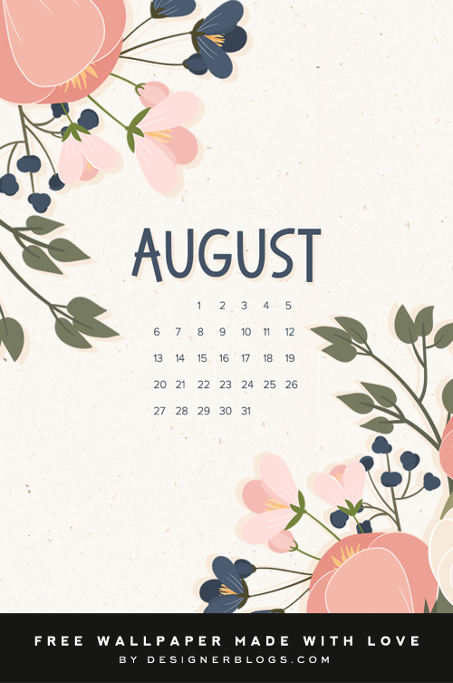 Free August Wallpaper