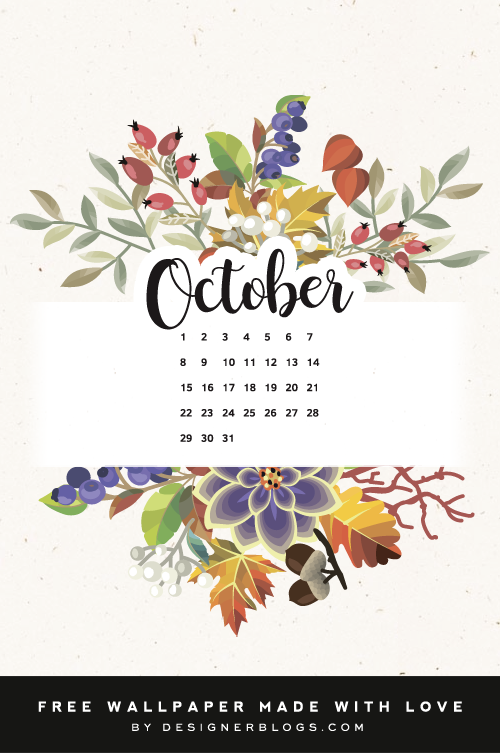 Free October Wallpaper