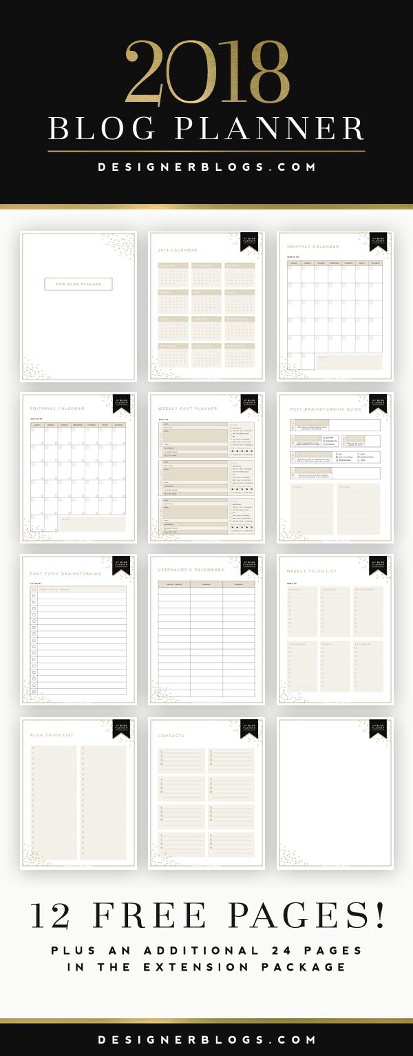 printable planning
