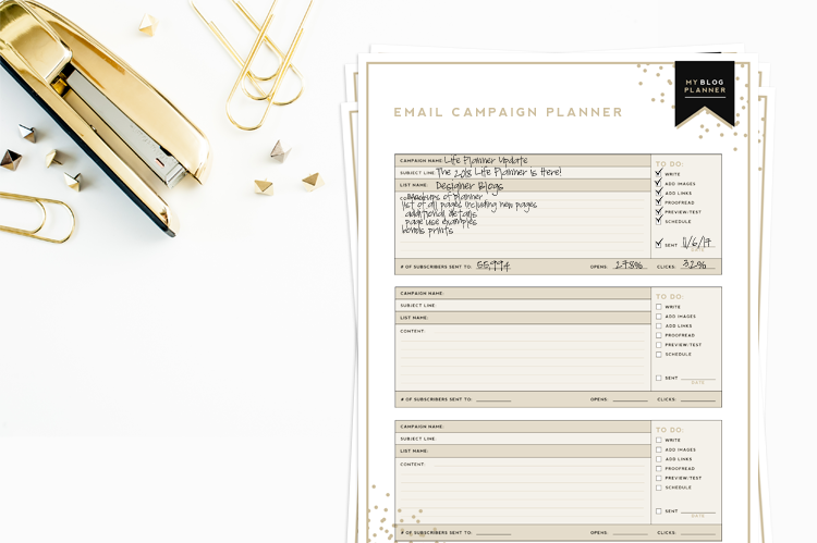 picture relating to Blog Planner Template known as Final Weblog Planner Absolutely free Printable Designer Weblogs