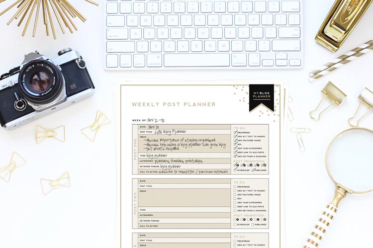 graphic relating to Blog Planner Template named Supreme Website Planner Absolutely free Printable Designer Weblogs