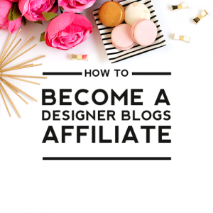 How to Become a Designer Blogs Affiliate