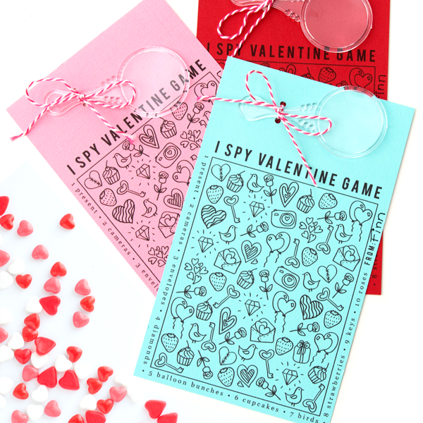 Free Printable Valentine Game for Class Valentine Ideas