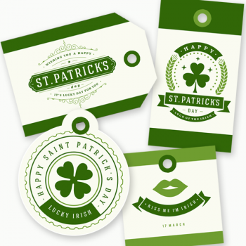 Free St. Patrick's Day Tags