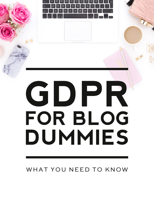 GDPR for Blog Dummies