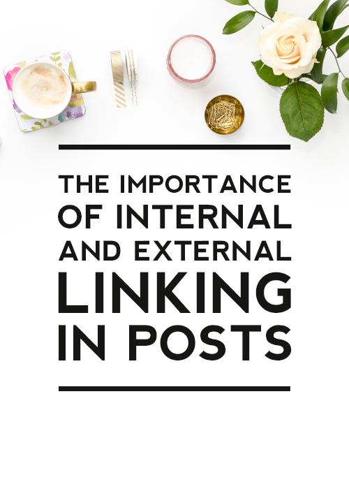 external and internal linking