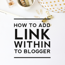 How to Add LinkWithin to Blogger