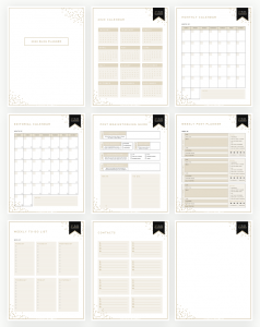 2019 FREE BLOG PLANNER - DESIGNER BLOGS