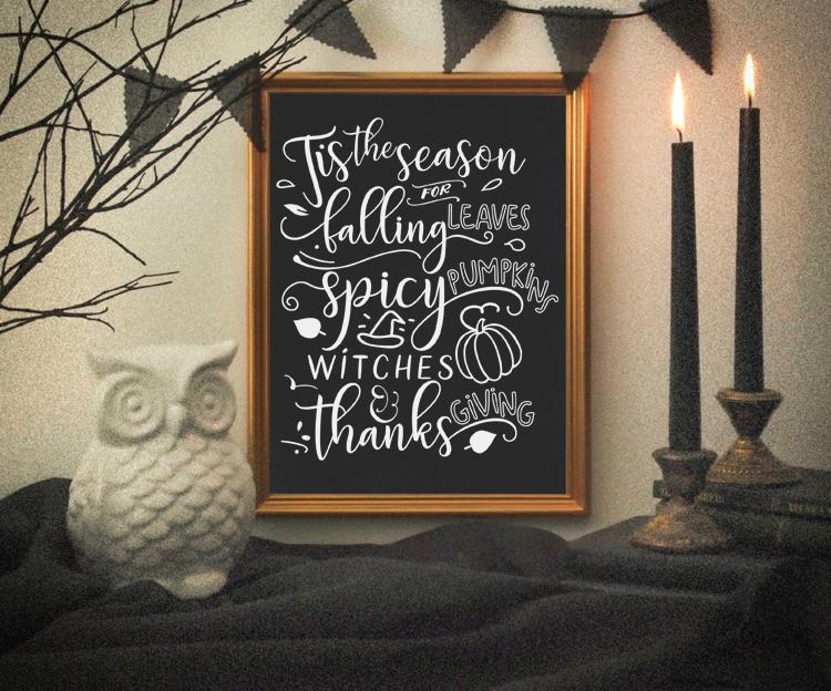Seasonal Halloween Print - Designer Blogs