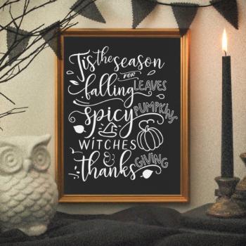 Seasonal Halloween Print