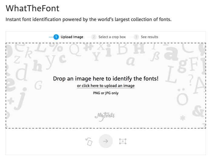 how to find the name of a font - take screenshot