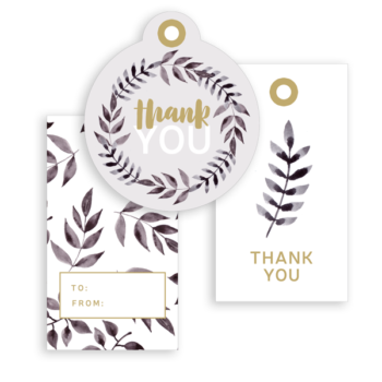 Free Thank You Gift Tags