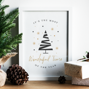 Most Wonderful Time of the Year Free Printable