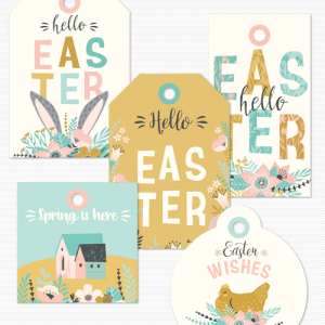 Easter Gift Tags | Free Printable