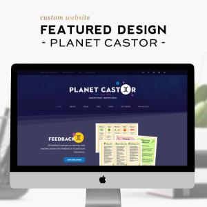 Custom Design Feature | Planet Castor