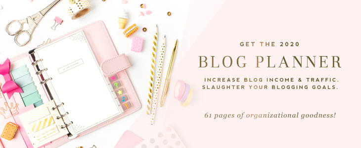 Use Ultimate Blog Planner to increase blog income and traffic.