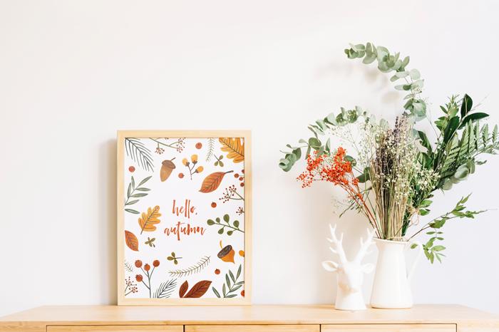 Hello, Autumn Free Printable