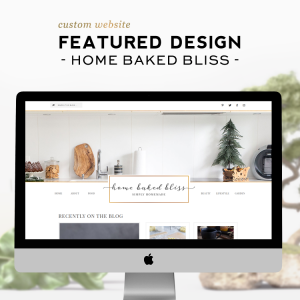 Custom Design Feature | Home Baked Bliss