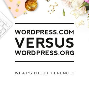WordPress.com vs WordPress.org for blogging - pros and cons of both platforms