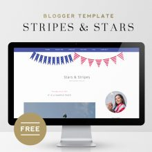 Stars & Stripes | Free Blogger Template