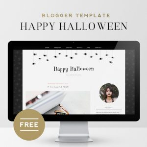 Happy Halloween | Free Blogger Template