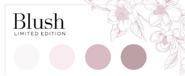 Blush (Pink blog planner) Planner colors