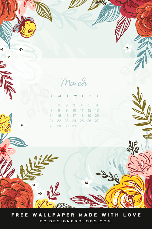 Free March 2021 Wallpaper