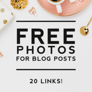 20 Sites With Stunning Free Photos for Your Blog Posts